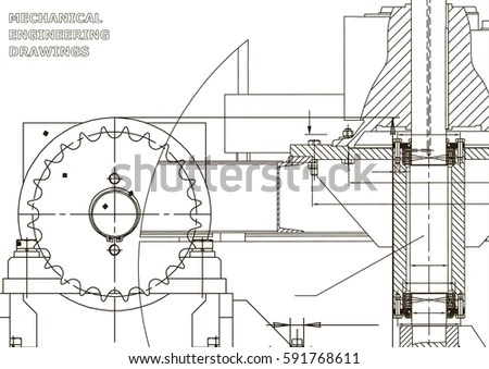 Blueprints Engineering Backgrounds Mechanical Engineering