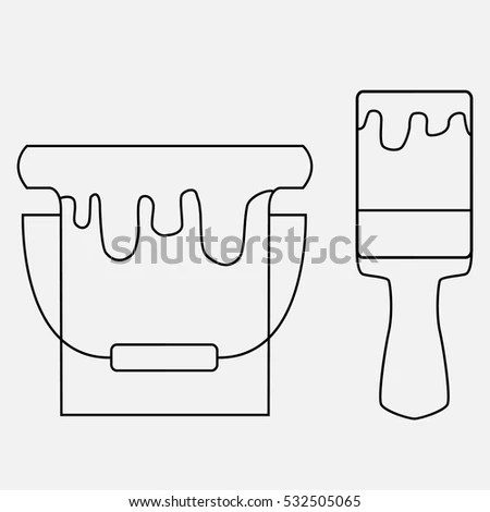 Toilet Bowl Structure System Cross Section Stock Vector