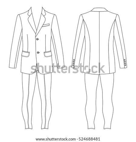 Suit Template Stock Images, Royalty-Free Images & Vectors