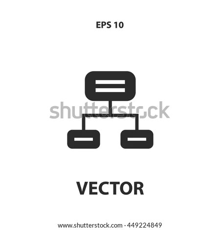 Flowchart Icon Stock Images, Royalty-Free Images & Vectors