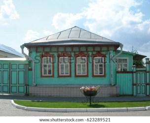 town hall building kolomna russian wooden shutterstock