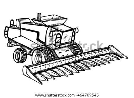 Harvester Machine Stock Images, Royalty-Free Images