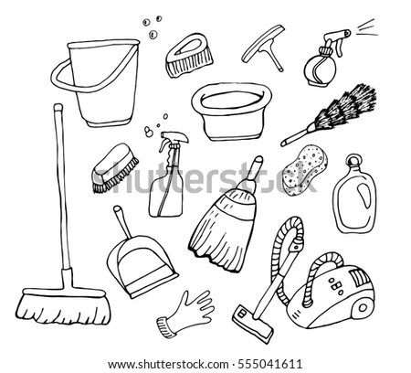 Hoover Vacuum Cleaners Sketch Coloring Page