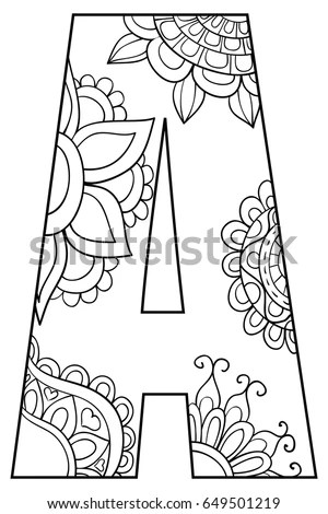 Floral Letters Stock Images, Royalty-Free Images & Vectors