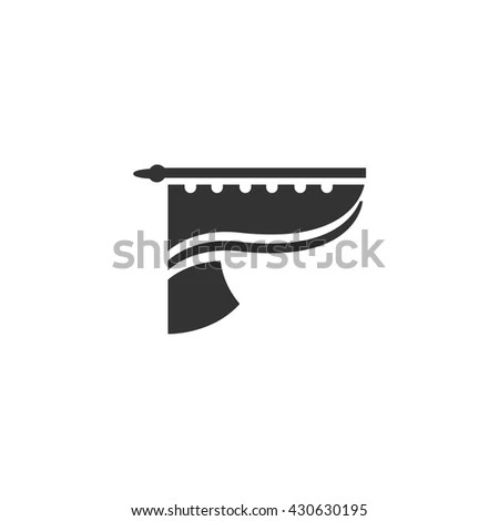 Curtain Icon Stock Photos, Royalty-Free Images & Vectors