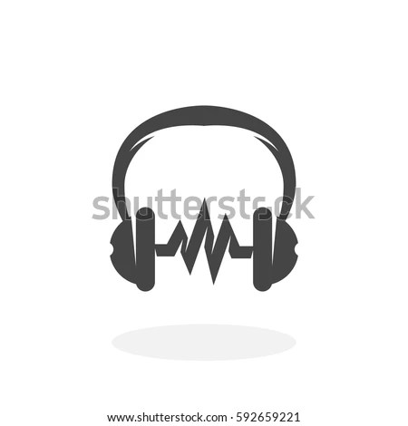 Headphone Logo Stock Images, Royalty-Free Images & Vectors