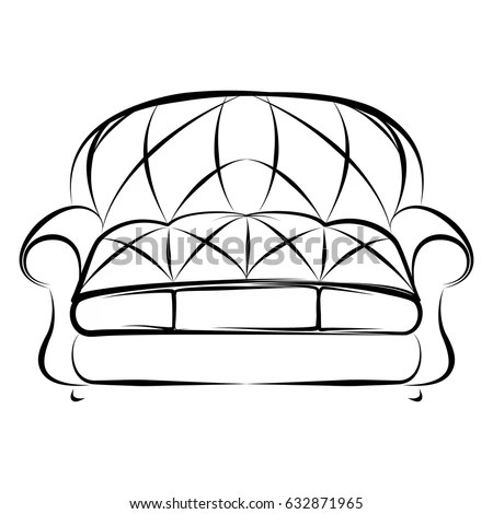 Comfortable Bed Vector Illustration Stock Vector 24246703