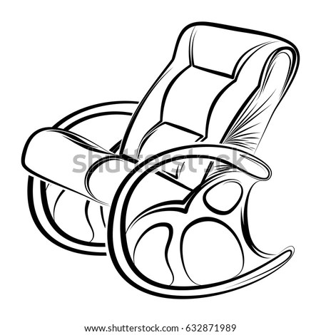 Antique Rocking Chair Stock Images, Royalty-Free Images