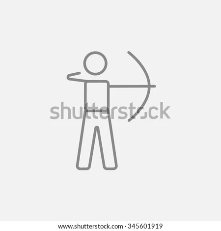 Quirky Drawing Sad Stick Man Sitting Stock Vector 51546223