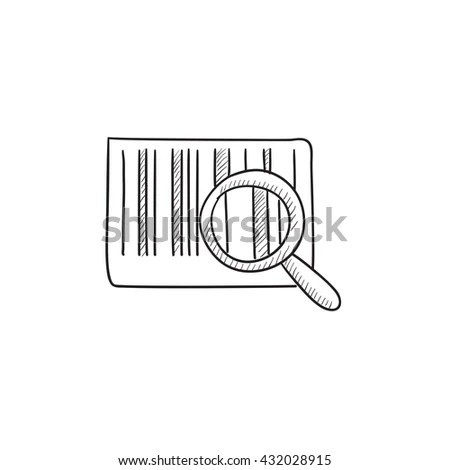 Caucasian Warehouse Worker Scanning Barcode On Stock
