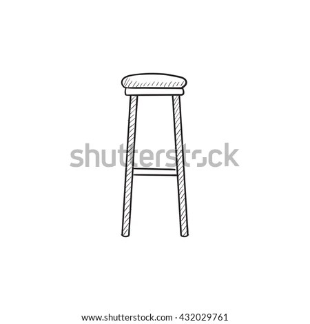 Sketch Chairs Stools Stock Photos, Royalty-Free Images