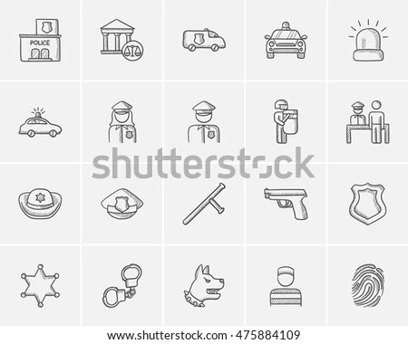 Police Sign Stock Images, Royalty-Free Images & Vectors