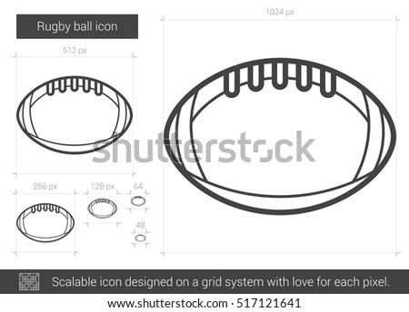 Rugby Icon Stock Images, Royalty-Free Images & Vectors