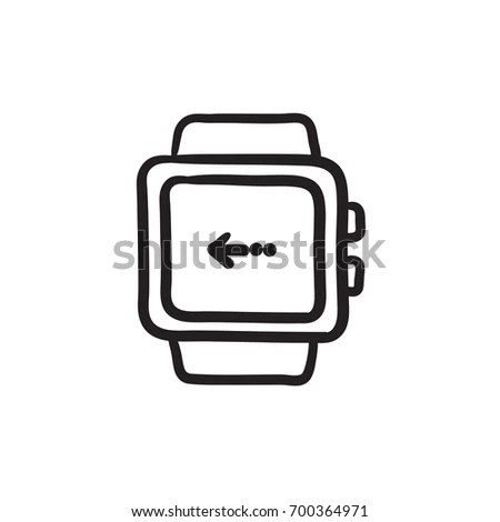 Outline Smartwatch Stock Images, Royalty-Free Images