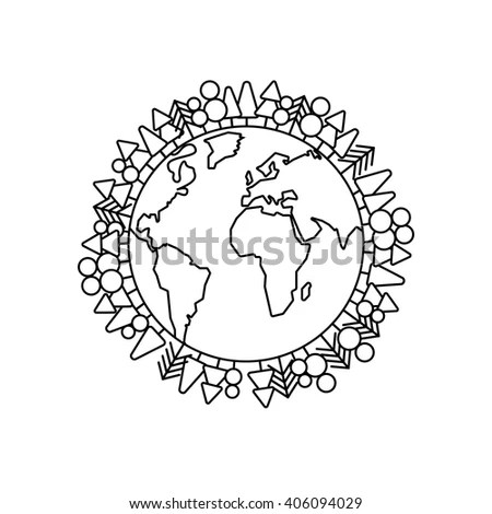Population Our World Vector Eps10 Stock Vector 95914426