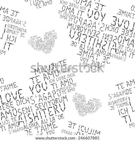 Background Made Newspaper Clippings Stock Photo 254800054