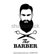 barber scissors stock royalty-free