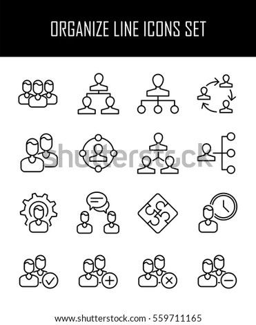 Business Meeting Icons Setvector Stock Vector 604555400