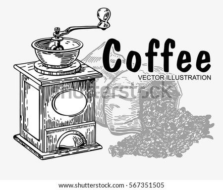 Coffee-grinder Stock Images, Royalty-Free Images & Vectors