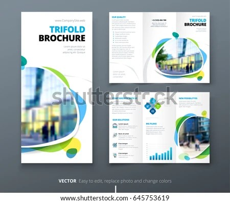 Brochure Layout Design Stock Images Royalty Free Images