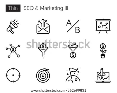 Vector Set 16 Icons Related Business 스톡 벡터 374042230