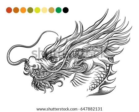 Chinese Dragon Head Stock Images, Royalty-Free Images