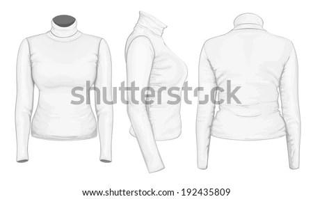 Turtleneck shirt Stock Photos, Turtleneck shirt Stock