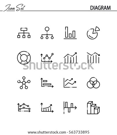 Table Line Icon High Quality Pictogram Stock Vector