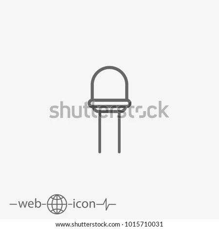 Diode Symbol Stock Images, Royalty-Free Images & Vectors