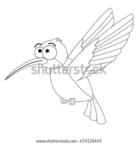 Cartoon Hummingbird Stock Images, Royalty-Free Images