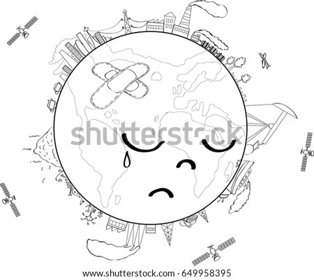 Earth Sad Stock Images, Royalty-Free Images & Vectors