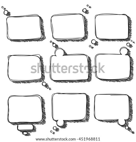 Doodle Square Stock Images, Royalty-Free Images & Vectors