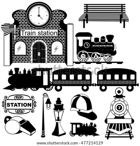 Train Front Stock Images, Royalty-Free Images & Vectors