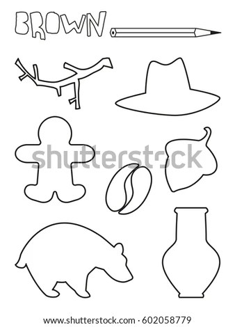 Doodle Style Wild West Cowboy Sheriff Stock Vector