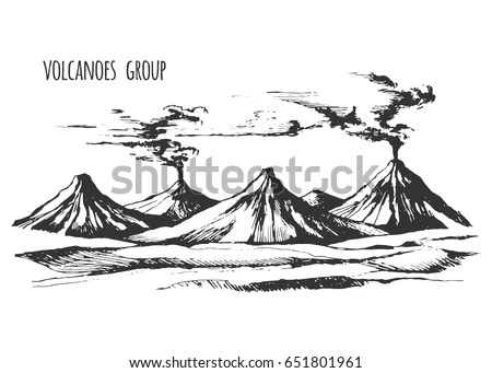 Volcano Stock Images, Royalty-Free Images & Vectors