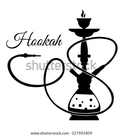 Hookah Menu Template Including Hookah List Stock Vector