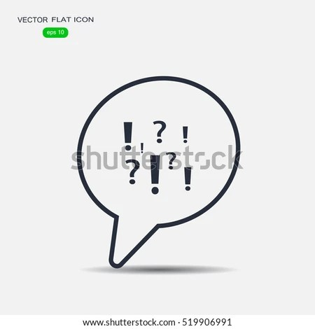 Vector Background Speech Bubbles Form Chart Stock Vector