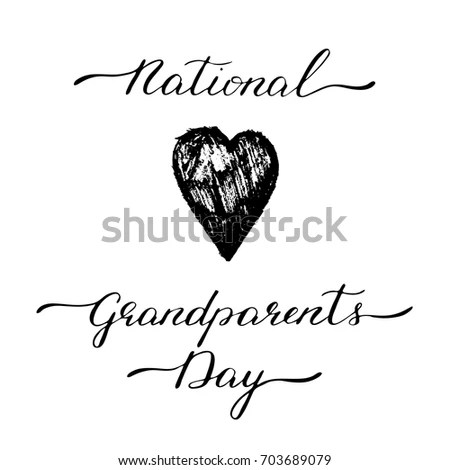 Happy Grandparents Day Stock Images, Royalty-Free Images