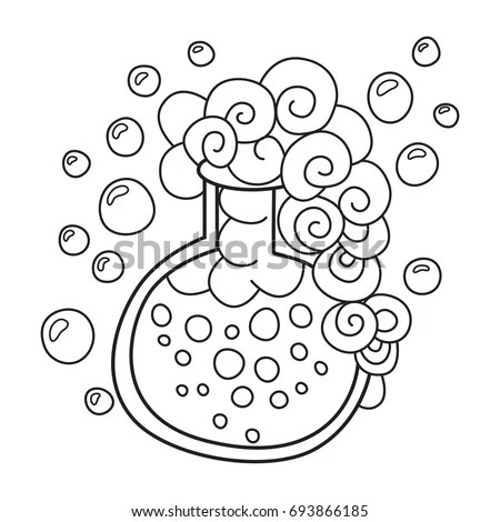 Elixir Coloring Pages Sketch Coloring Page