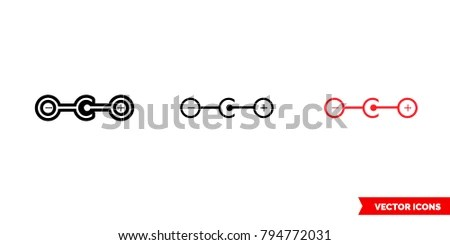 Types Battery Icon Stock Images, Royalty-Free Images