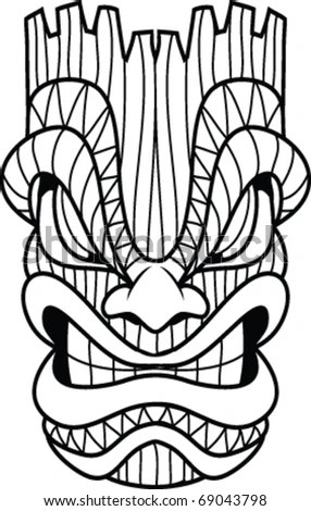 Tiki Mask Stock Images, Royalty-Free Images & Vectors