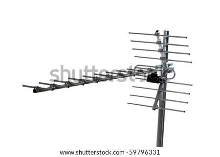 Astro satellite disk as a tv antenna.