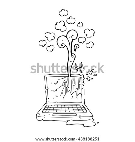 Broken Computer Stock Images, Royalty-Free Images
