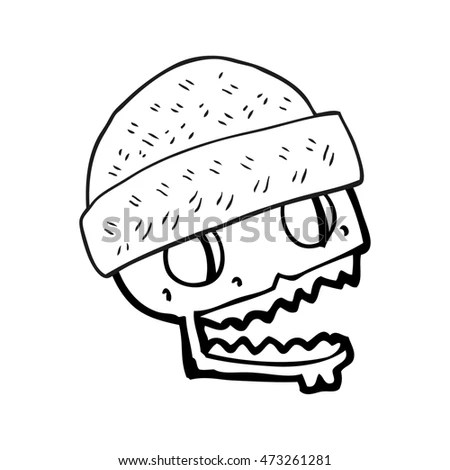 Cartoon Vector Outline Illustration Hamburger Stock Vector