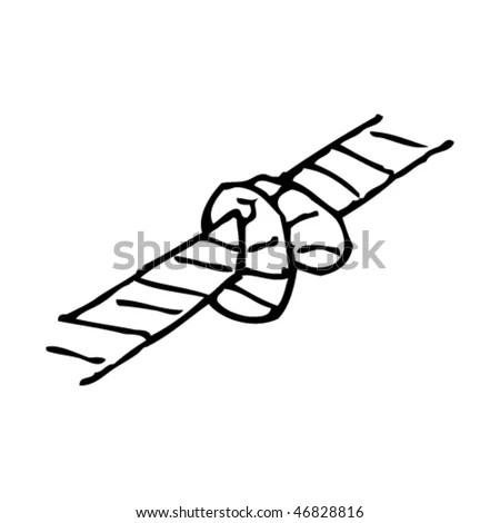 Technical Illustration Space Shuttle Stock Illustration