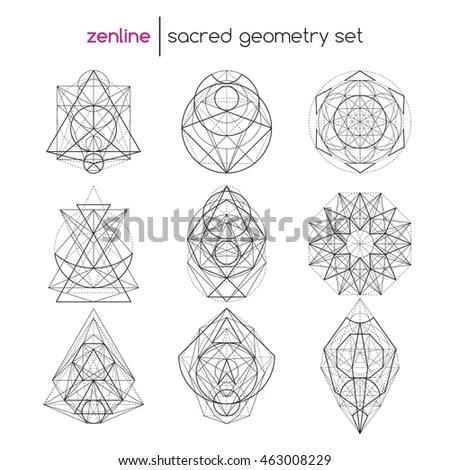 Geometric Symbols Stock Images, Royalty-Free Images