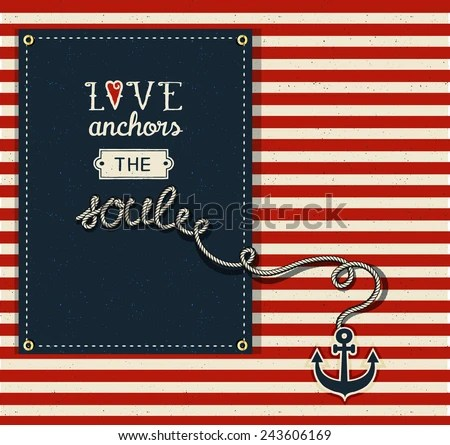 Download Love Anchors the Soul - Inspirational quote about love for ...