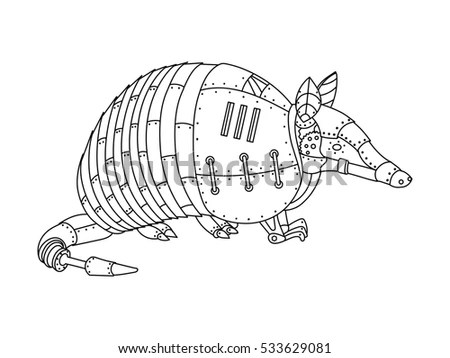 Armadillo Tattoo Stock Images, Royalty-Free Images