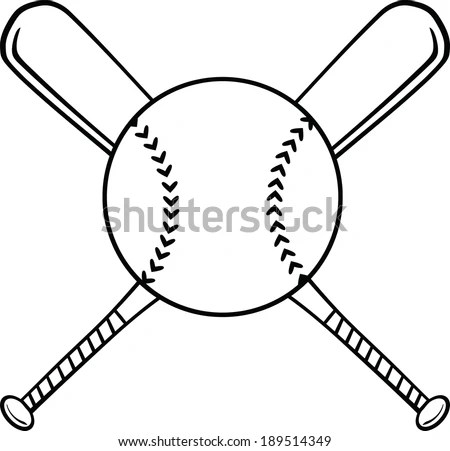 Crossed Baseball Bats Stock Images, Royalty-Free Images