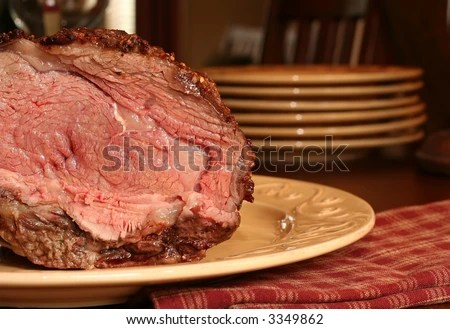 Carving Prime Rib Stock Images, Royaltyfree Images